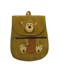Ultra Monkey Face School Bag 14 Inches (1222UST),  brown