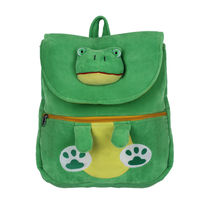 Ultra Frog Face School Bag 14 Inches (1025UST), green