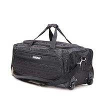 American Tourister X - Bag Classic 2 Fabric 65 cms Black Travel Duffle Medium Luggage (40X (0) 09 027)