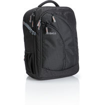 Pinball Tribute Camera Backpack, black and grey