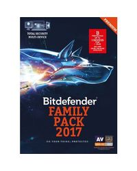Bitdefender Total Security, standard-multicolor, 5 users