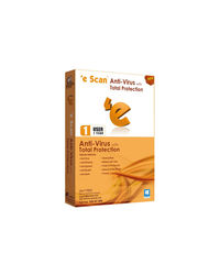 eScan Anti-Virus with Total Protection (1PC / 1 Year)
