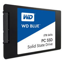 WD Blue WDS100T1B0A 1TB 6Gb/s SATA Internal SSD,  blue