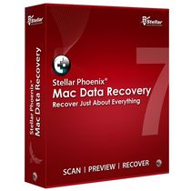 Stellar Phoenix  Mac Data Recovery,  red