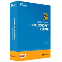 Stellar Phoenix Outlook PST Repair,  yellow