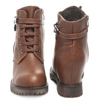 TEN Leather Boots (TENMBTTBI-029BRW01),  brown, 41
