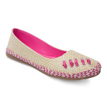Cute Feet Jute Bellies (PJB1107S), pink, 40