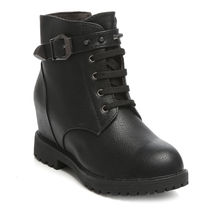TEN Leather Boots (TENMBTTBI-026BLK02),  black, 38