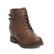 TEN Leather Boots (TENMBTTBI-030BRW02),  brown, 41