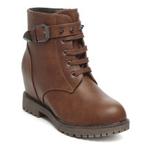 TEN Leather Boots (TENMBTTBI-026BRW01),  brown, 40