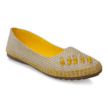 Cute Feet Jute Bellies (YJB1109S),  yellow, 38