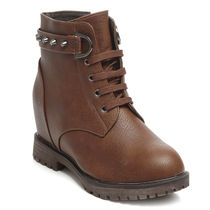 TEN Leather Boots (TENMBTTBI-027BRW02),  brown, 40