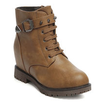 TEN Leather Boots (TENMBTTBI-031TAN01),  tan, 40