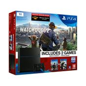 Sony PS4 1TB with 3 Games (WatchDogs I, WatchDogs II & Infamous Second Son)