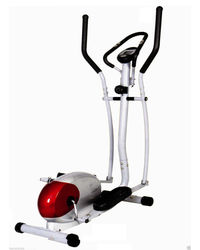 Pro Bodyline Sturdy Domestic Elliptical Trainer For Home Use, standard-silver