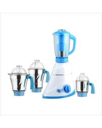Anjalimix Mixer Grinder Sumo 1000W With 3 Jars, off white