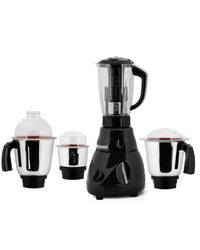 Anjalimix Avion Black Mixer Grinder with 4 Jar 750 watts,  black