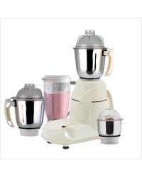 Anjalimix Mixer Grinder Four Square 750W With 4 Jars,  white