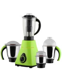 Anjalimix Mixer Grinder Amura 1000 Watts With 4 Jars,  green