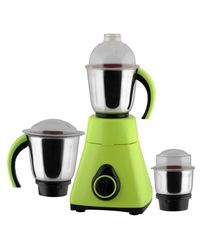 Anjalimix Mixer Grinder Amura 1000 Watts With 3 Jars,  green