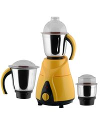 Anjalimix Mixer Grinder Spectra 750 Watts With 3 Jars,  yellow