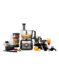 Spherehot FP-01 Food Processor, black and silver