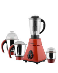 Anjalimix Mixer Grinder Amura 750 Watts With 4 Jars,  red