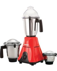 Spherehot MXT 11 600-Watt Mixer Grinder with 3 Jars, white and red