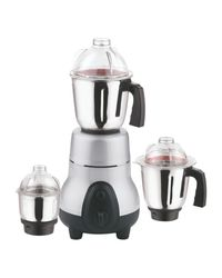 Anjalimix Mixer Grinder Metalica-Ex 750W With 3 Jars,  silver