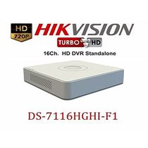 Hikvision DS-7116HGHI-F1 16 Channel DVR Resolution 720 P Tribrid HDTVI W/O Remote Support AHD+ Ip