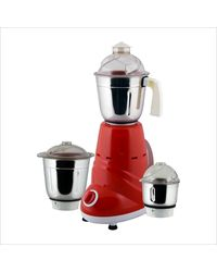 Anjalimix Mixer Grinder Zobo 600 W With 2 Jars(Economy),  red