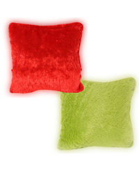 Cortina Cortina Pillow (HP-007-C-SO2), red and green