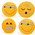 Cortina Cortina Smiley Cushion Set Of 4 (SC-SO4-004),  yellow