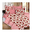 Ahmedabad Cotton Basics Cotton Double Bedsheet With 2 Pillow Covers (ACB20D00088)
