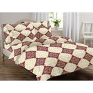 Ahmedabad Cotton Basics Cotton Double Bedsheet With 2 Pillow Covers (ACB20D00062)