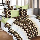 Ahmedabad Cotton Basics Cotton Double Bedsheet With 2 Pillow Covers (ACB20D00105)
