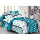 Ahmedabad Cotton Basics Cotton Double Bedsheet With 2 Pillow Covers (ACB20D00052)