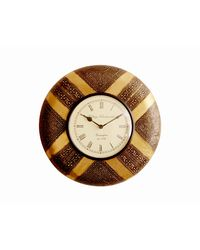 Cocovey Ethnic Wall Clocks (C111002_ 6), golden