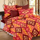 Ahmedabad Cotton Basics Cotton Double Bedsheet With 2 Pillow Covers (ACB20D00064)