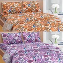 Cortina Premium Set Of 2 Bed Sheet (PRDP-035), multicolor