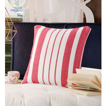 Swhf Cushion Cover - Red Stripes