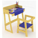 Ginnie & Ginnie Kinderjoy Study Table & Chair-Blue