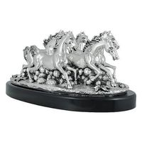 Shaze Silver Group Horse Art,  silver
