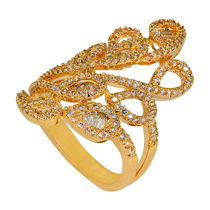 Shaze Gold-Plated Egyptian Ring