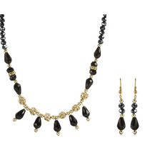 Oleva Ladies Pearl Necklace Set With Earrings (OPN-2)