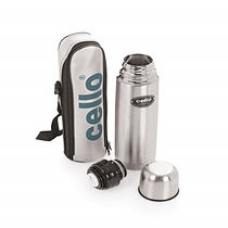 Cello Lifestyle Stainless Steel Flask, 500 ml