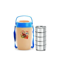 Cello Relish Insulated Lunch Carrier (5 Container)