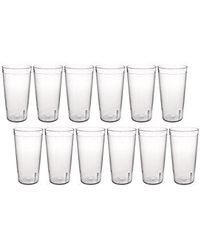 Apex Unbreakable Glass Set - 12 Pcs, multicolor
