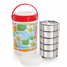 Cello Cosmos Insulated Lunch Carrier (5 Container)