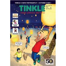 Tinkle, english, 1 year